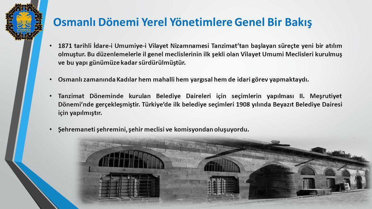Osmanlı Dönemi Yerel Yönetimlere Genel Bir Bakış