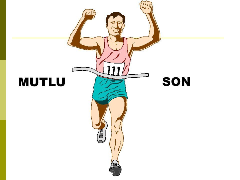 MUTLU SON