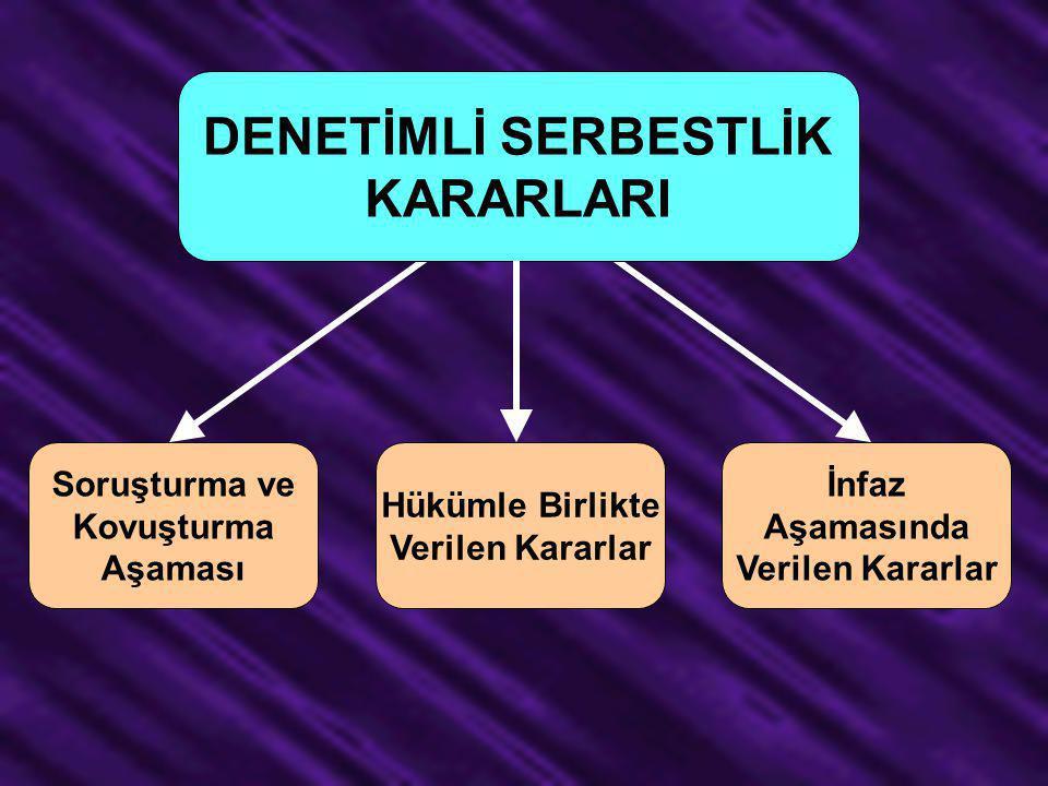 DENETİMLİ SERBESTLİK KARARLARI