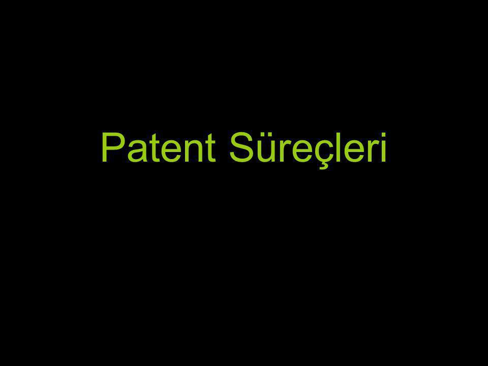 Patent Süreçleri