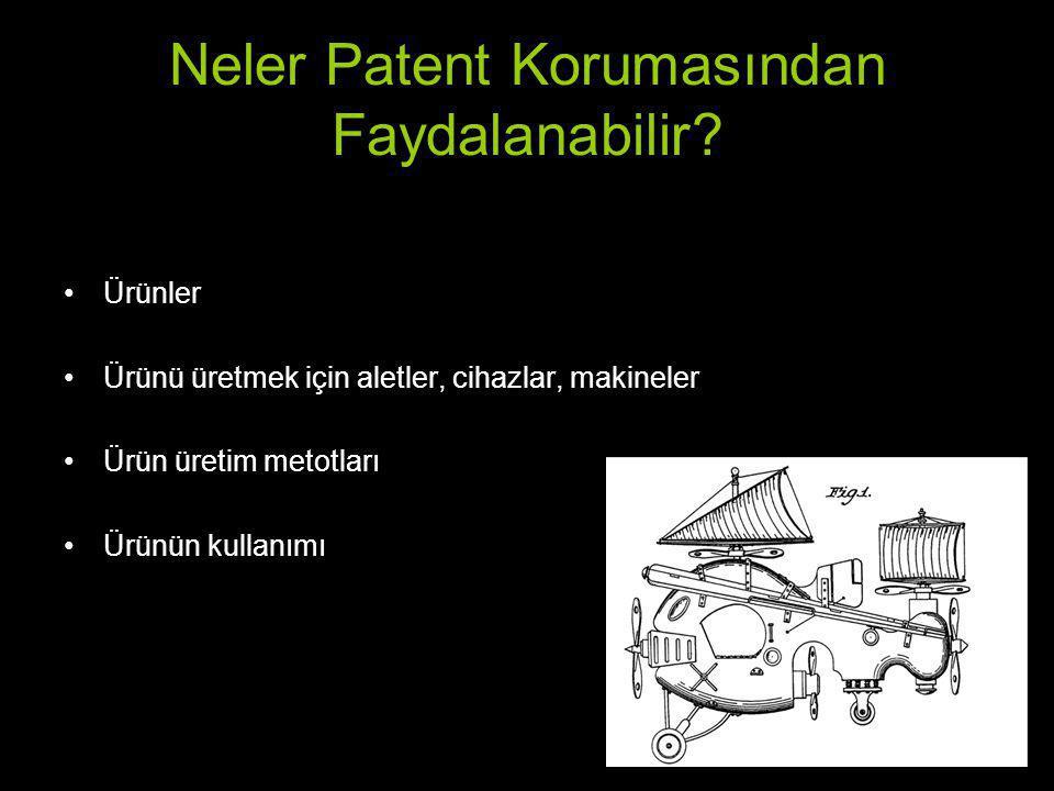 Neler Patent Korumasından Faydalanabilir