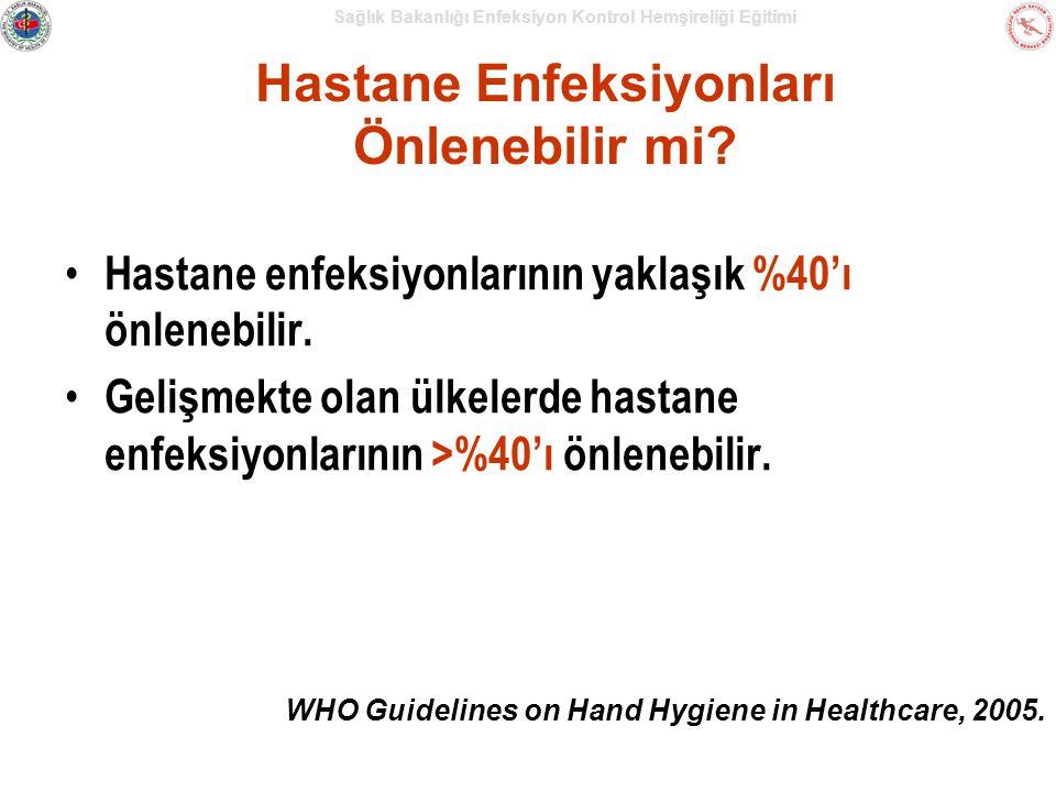 Hastane Enfeksiyonları Önlenebilir mi