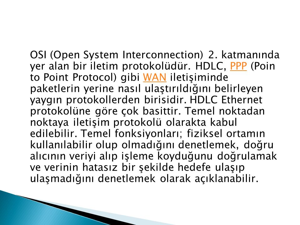OSI (Open System Interconnection) 2
