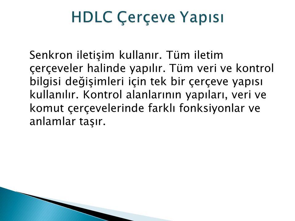 HDLC Çerçeve Yapısı