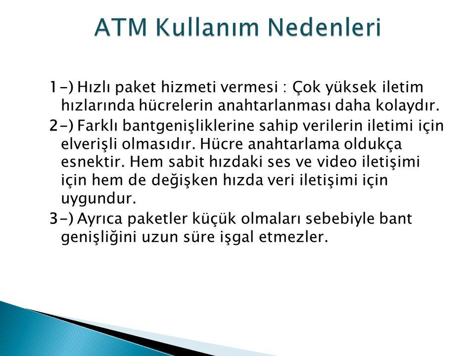 ATM Kullanım Nedenleri
