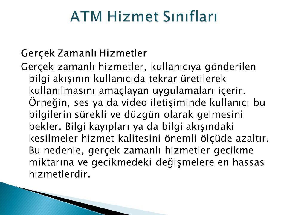 ATM Hizmet Sınıfları