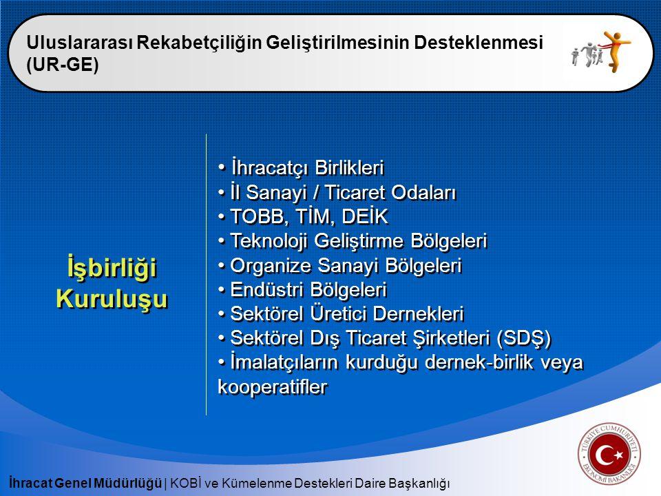 İşbirliği Kuruluşu İhracatçı Birlikleri İl Sanayi / Ticaret Odaları
