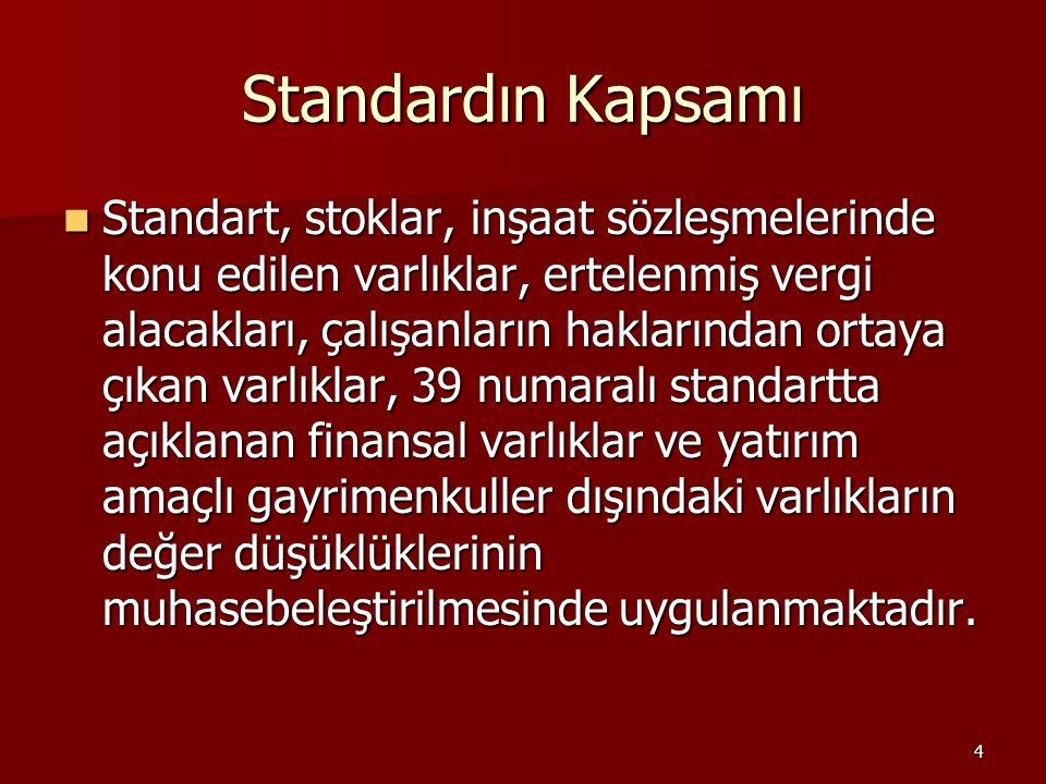 Standardın Kapsamı