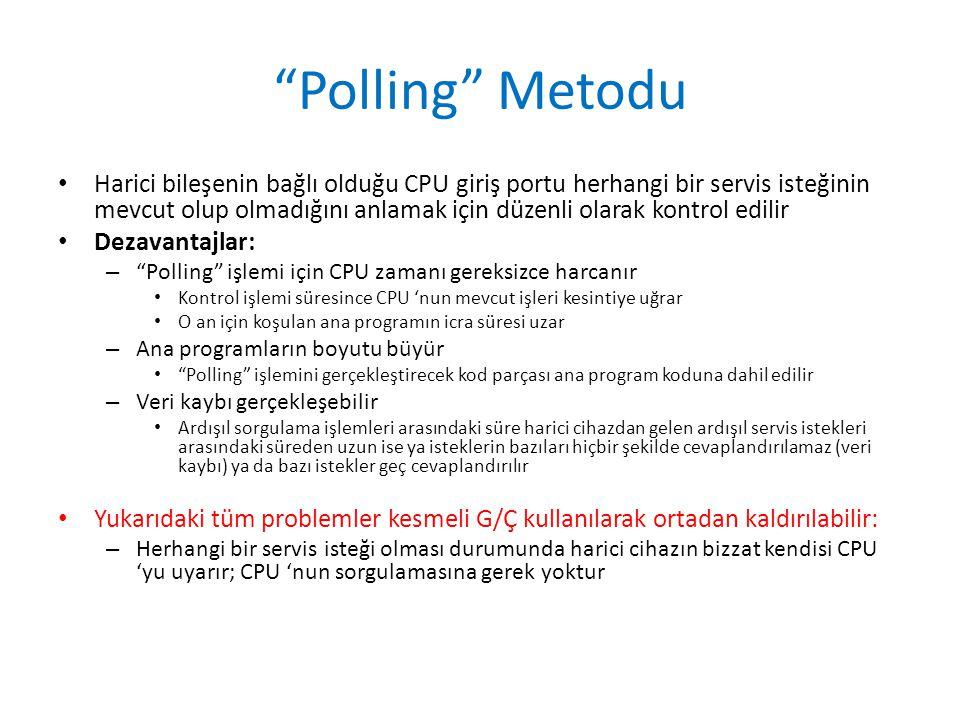 Polling Metodu