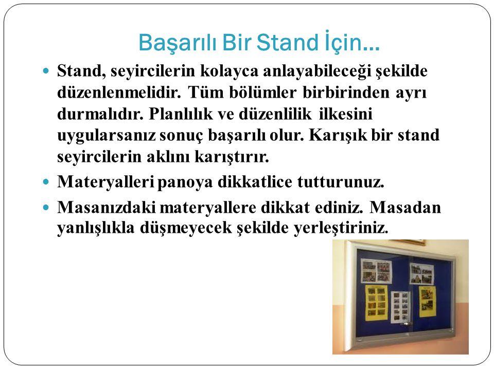 Başarılı Bir Stand İçin…