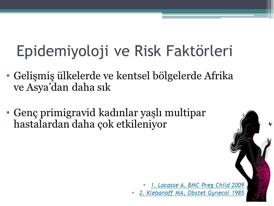 Epidemiyoloji ve Risk Faktörleri