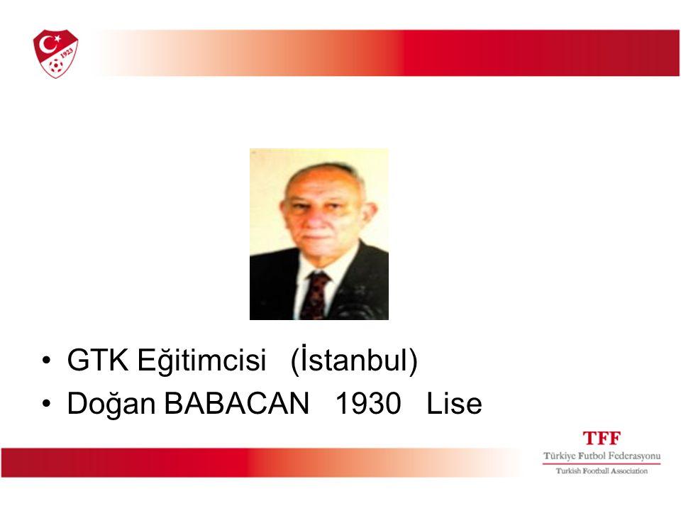 GTK Eğitimcisi (İstanbul)