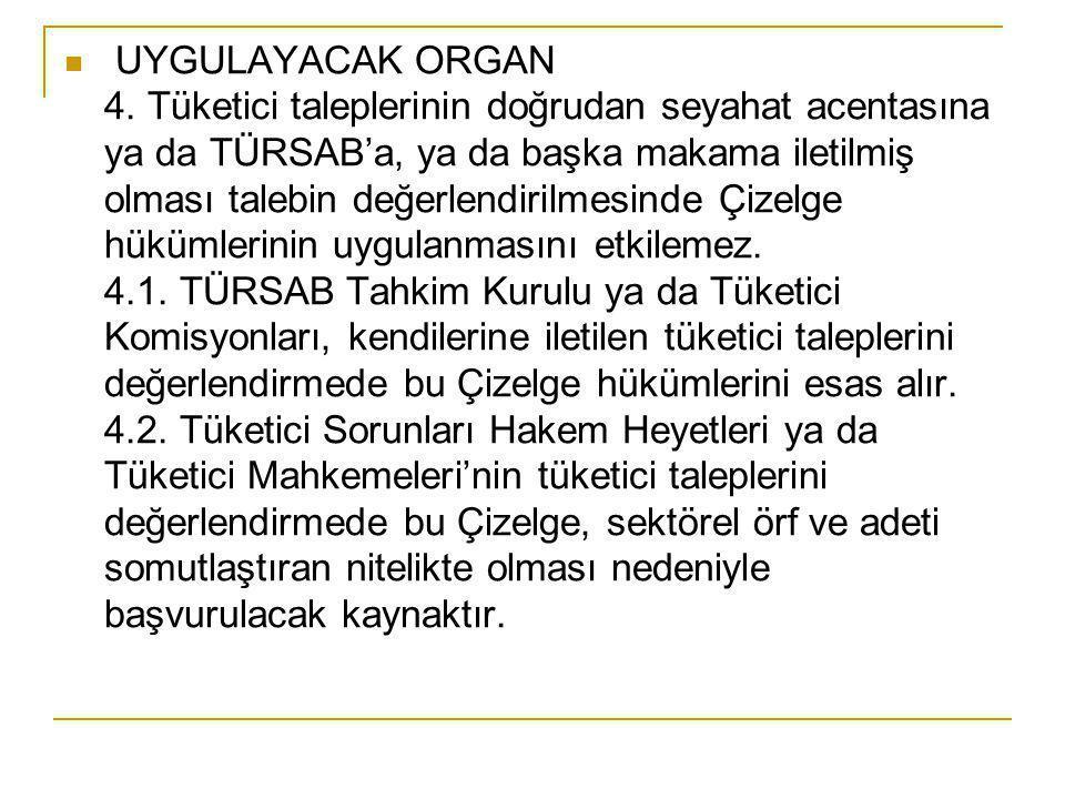 UYGULAYACAK ORGAN 4.