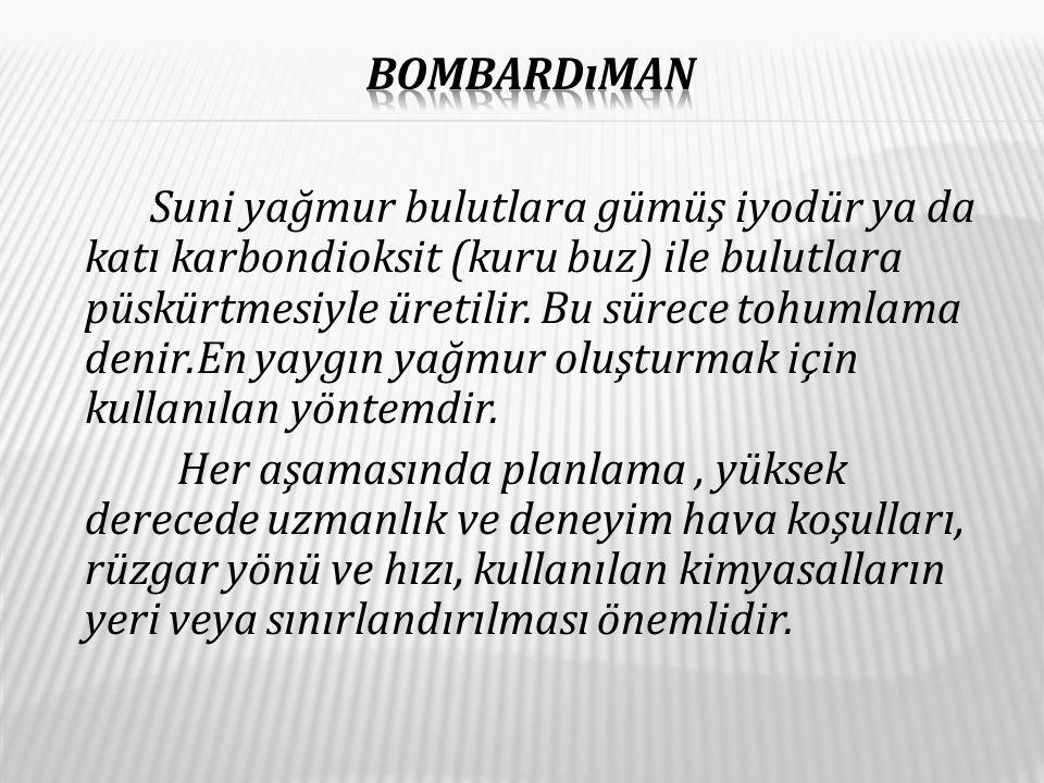 Bombardıman