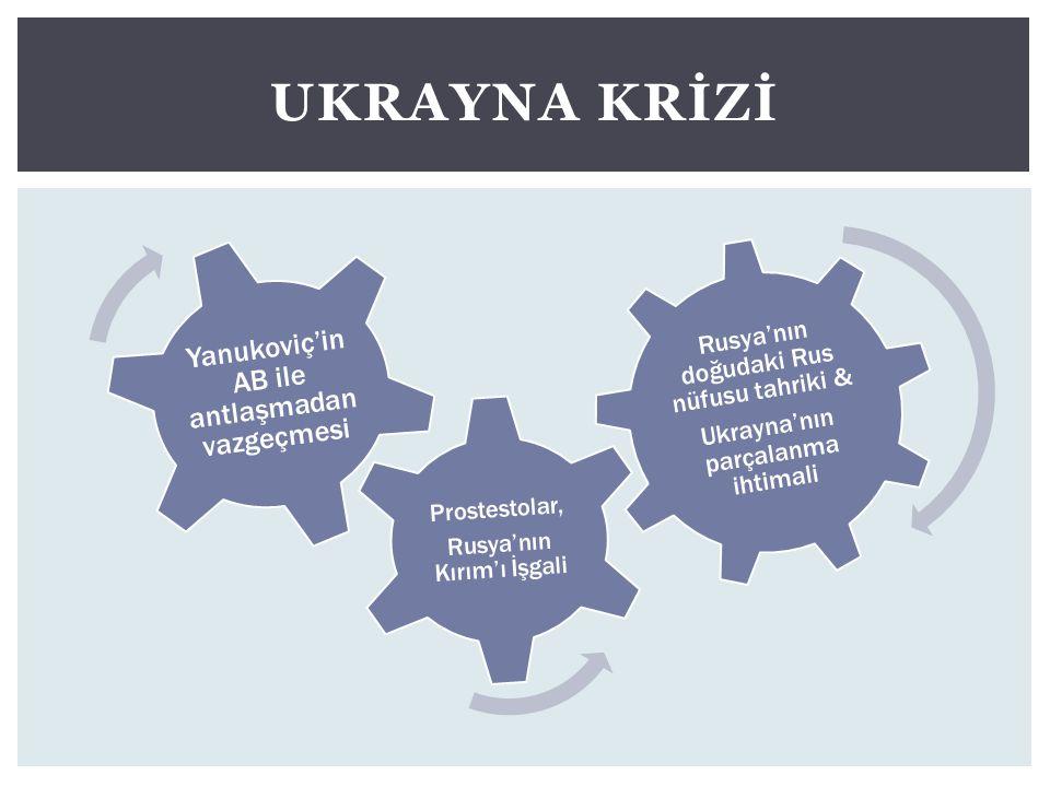 Ukrayna Krİzİ Yanukoviç'in AB ile antlaşmadan vazgeçmesi