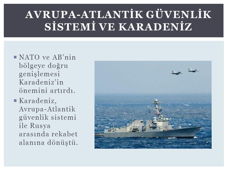 Avrupa-Atlantİk Güvenlİk Sİstemİ ve Karadenİz