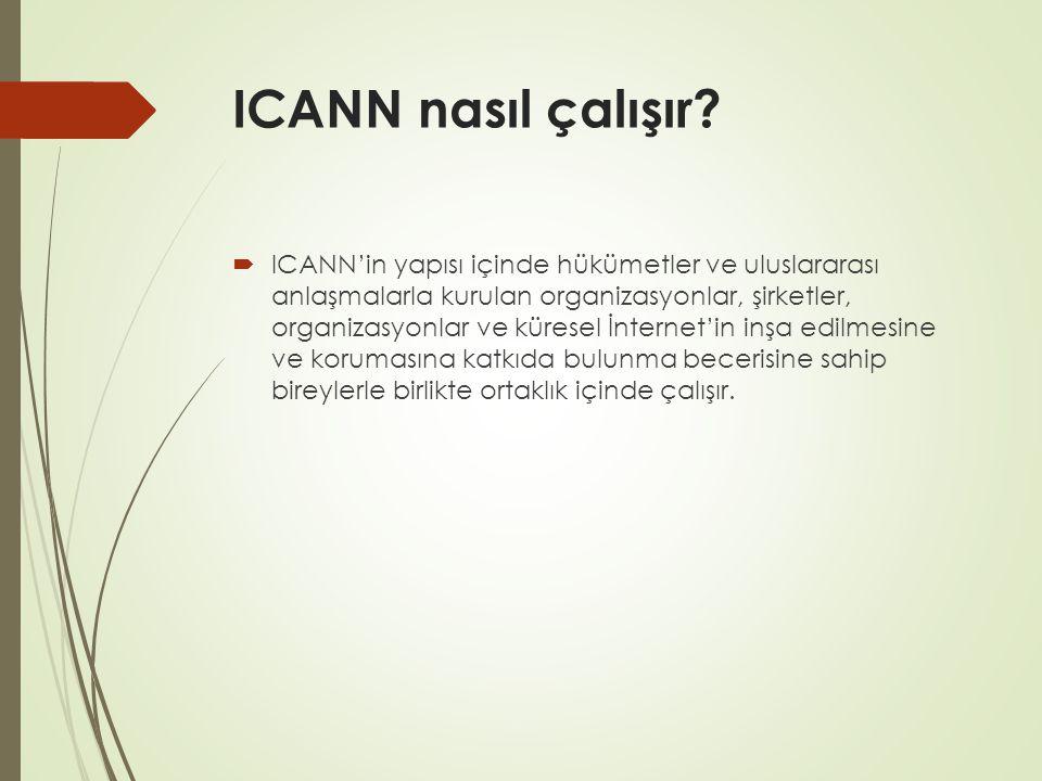 ICANN nasıl çalışır