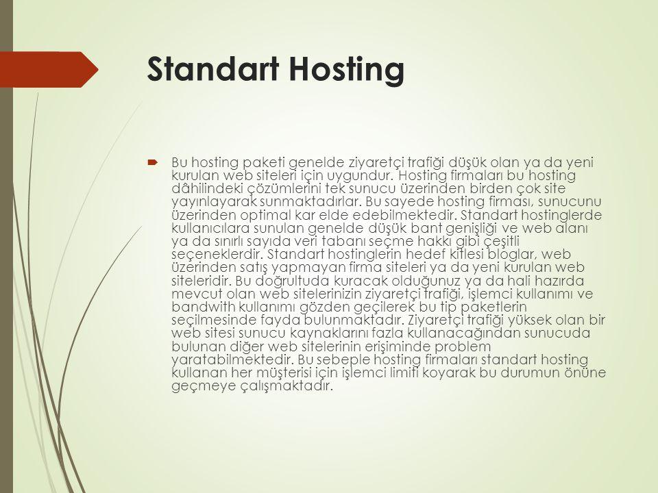 Standart Hosting
