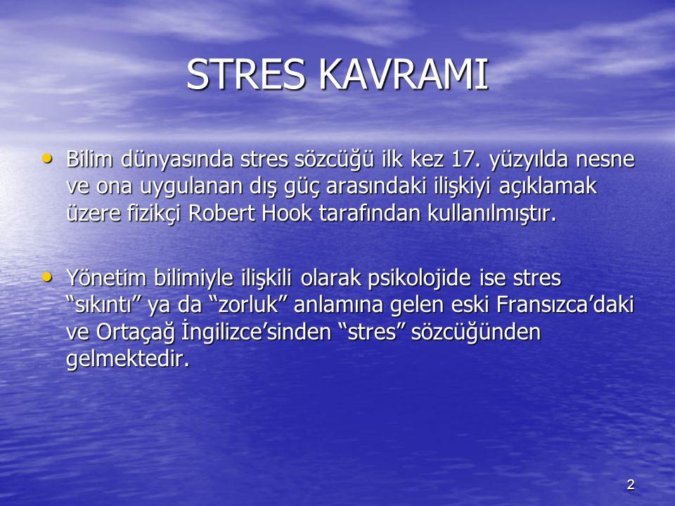 STRES KAVRAMI