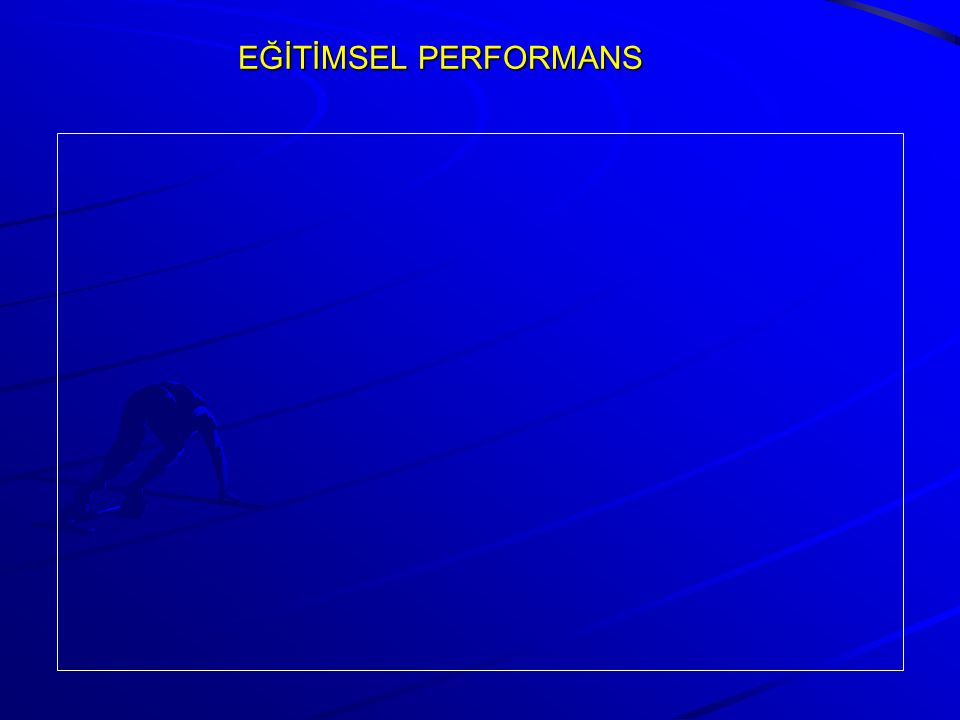 EĞİTİMSEL PERFORMANS
