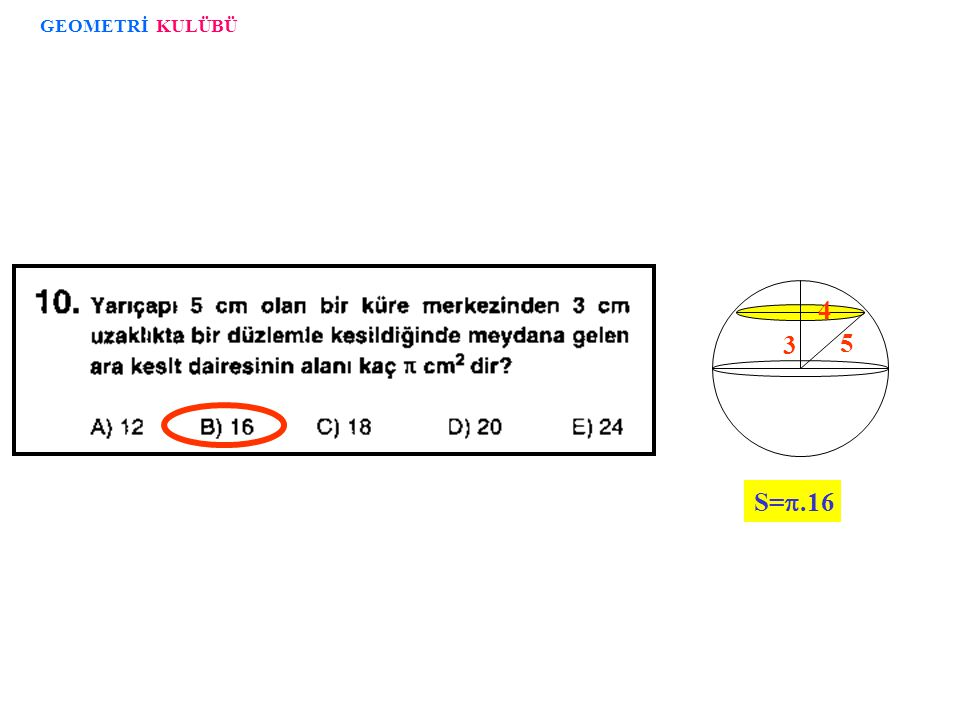 GEOMETRİ KULÜBÜ 3 5 4 S=.16
