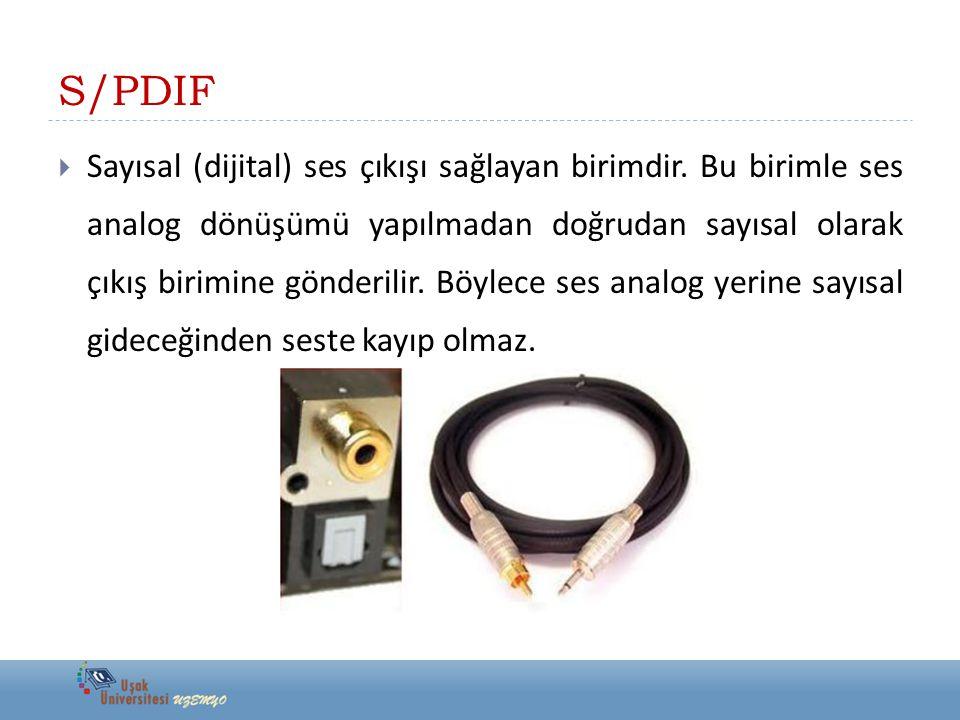 S/PDIF