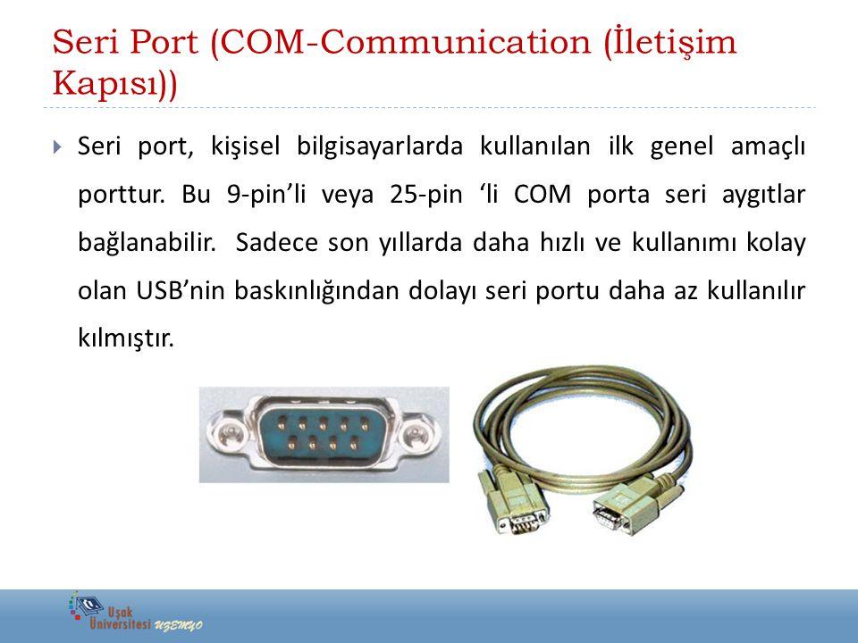 Seri Port (COM-Communication (İletişim Kapısı))
