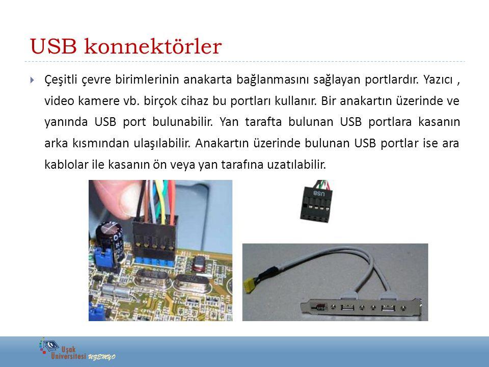 USB konnektörler