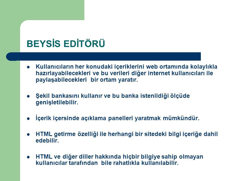 BEYSİS EDİTÖRÜ