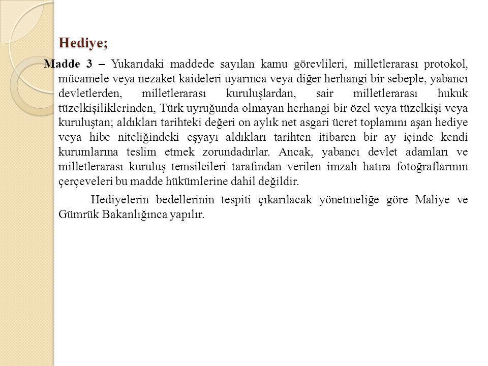 Hediye;