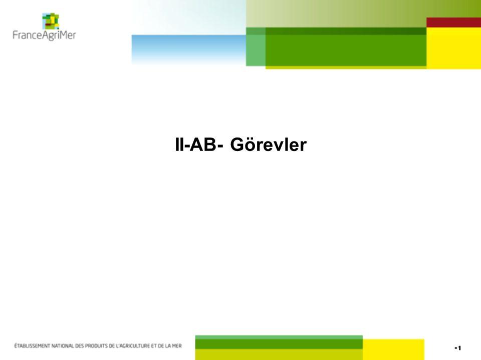 II-AB- Görevler
