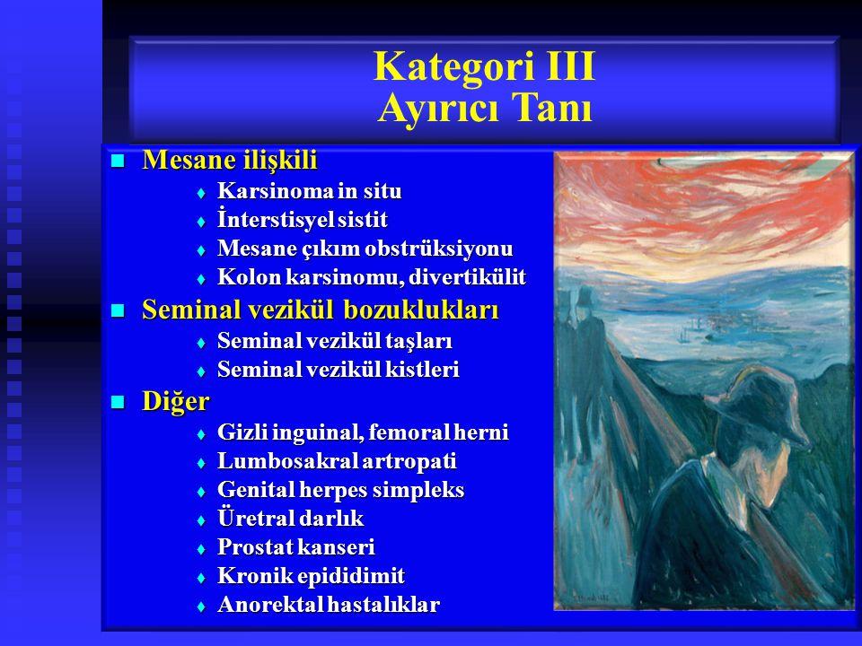 Kategori III Ayırıcı Tanı