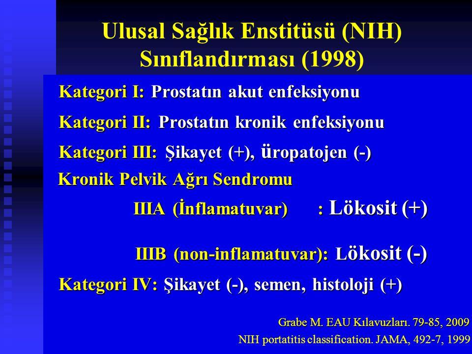 Ulusal Sağlık Enstitüsü (NIH) Sınıflandırması (1998)
