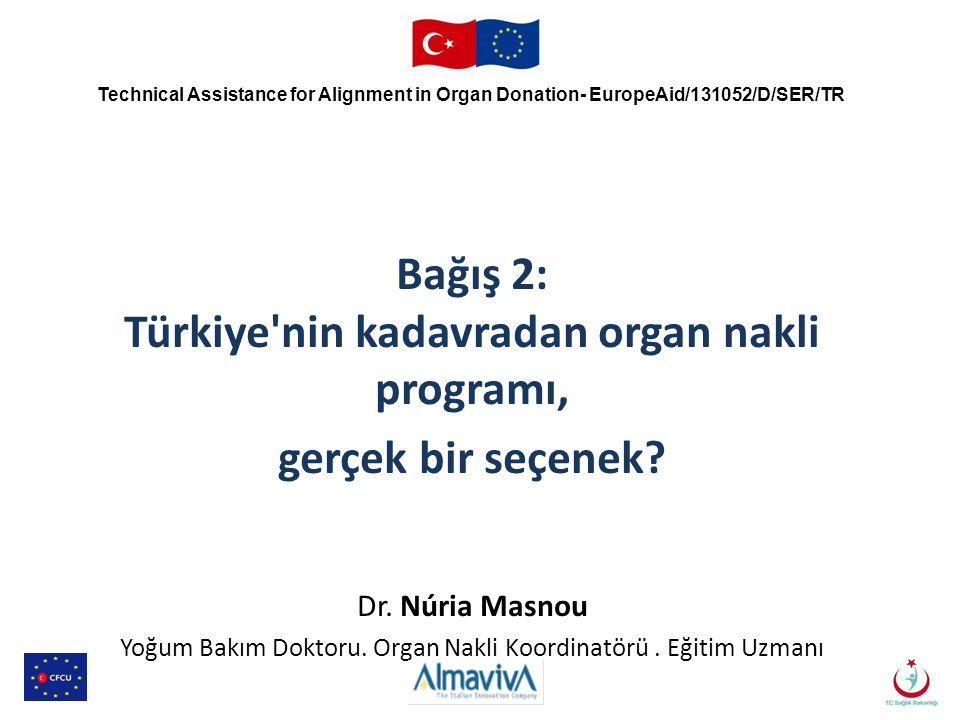 Bağış 2: Türkiye nin kadavradan organ nakli programı,