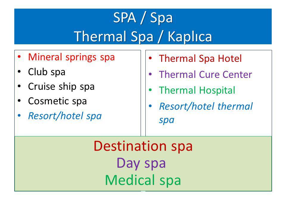 SPA / Spa Thermal Spa / Kaplıca