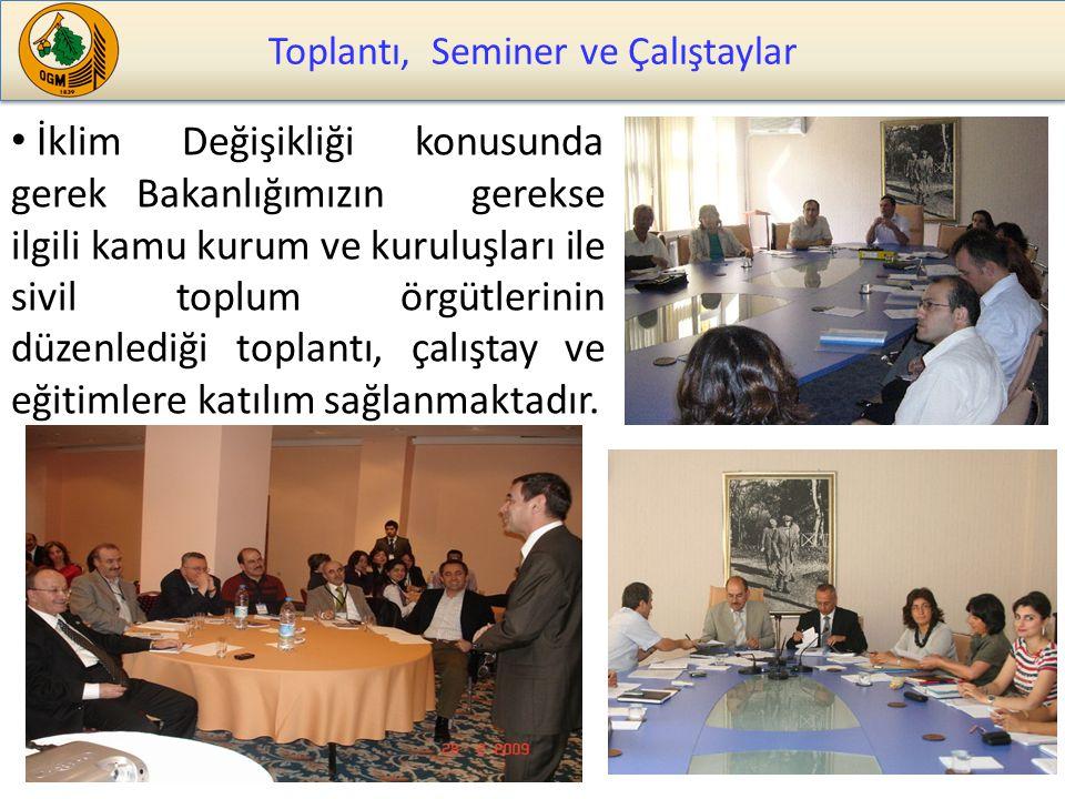 Toplantı, Seminer ve Çalıştaylar
