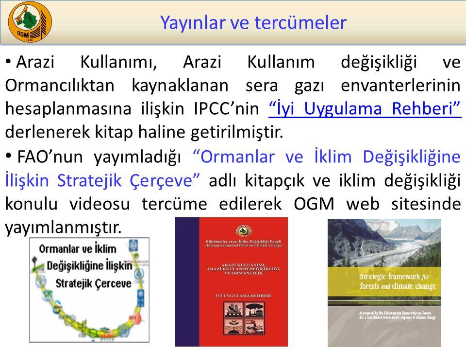 Yayınlar ve tercümeler
