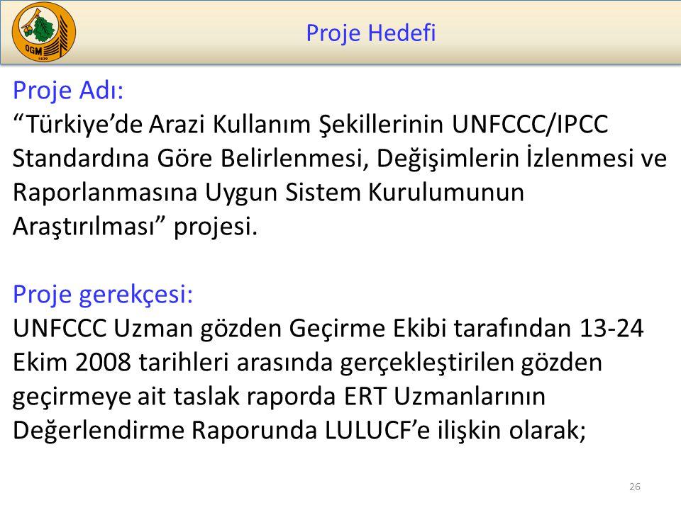 Proje Hedefi Proje Adı: