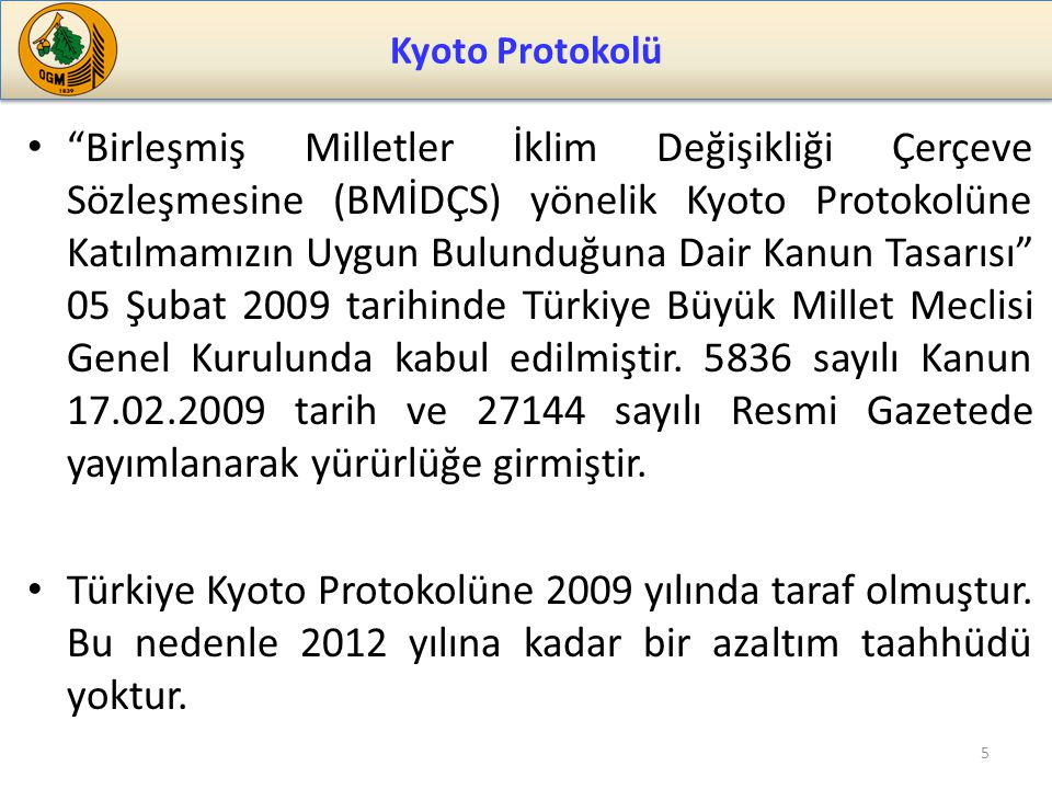 Kyoto Protokolü