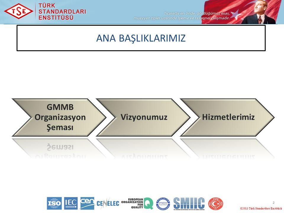 GMMB Organizasyon Şeması