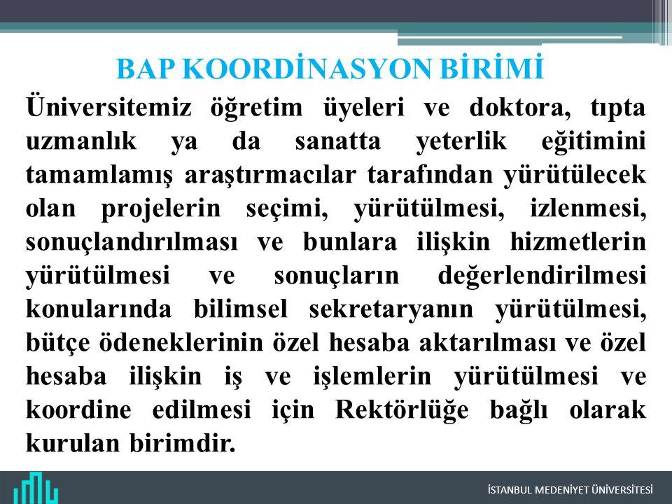 BAP KOORDİNASYON BİRİMİ