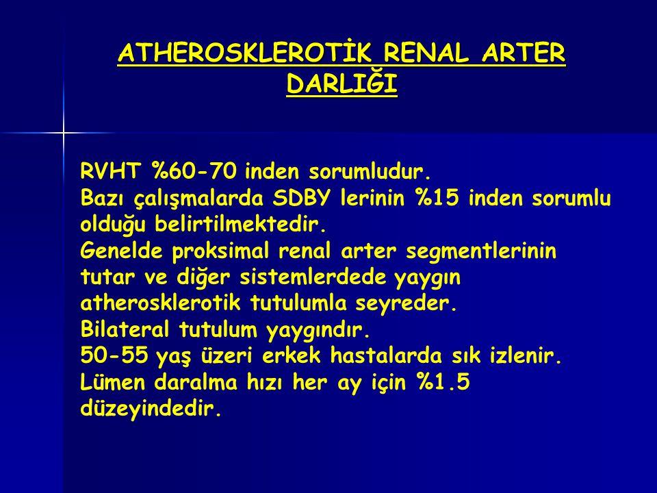 ATHEROSKLEROTİK RENAL ARTER DARLIĞI