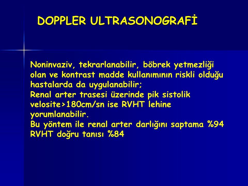 DOPPLER ULTRASONOGRAFİ