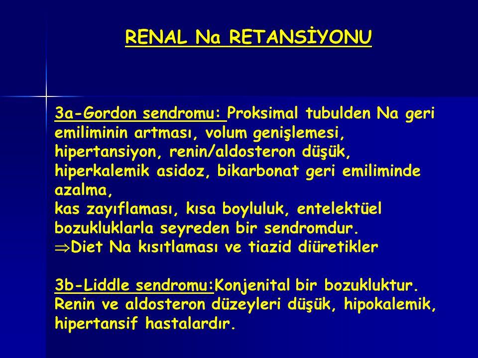 RENAL Na RETANSİYONU