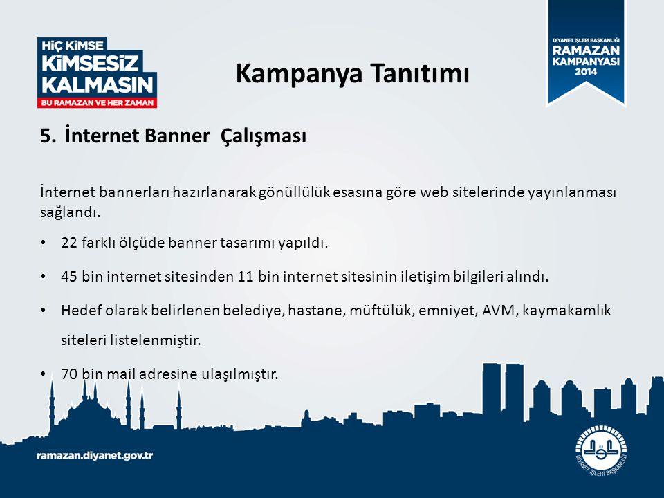 Kampanya Tanıtımı İnternet Banner Çalışması