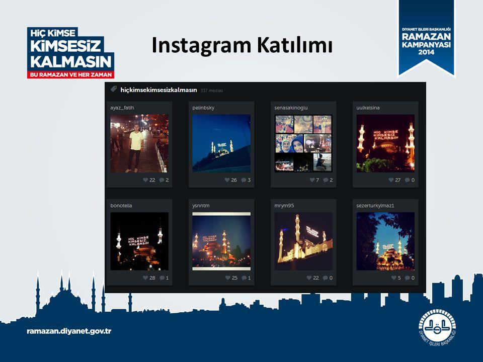 Instagram Katılımı