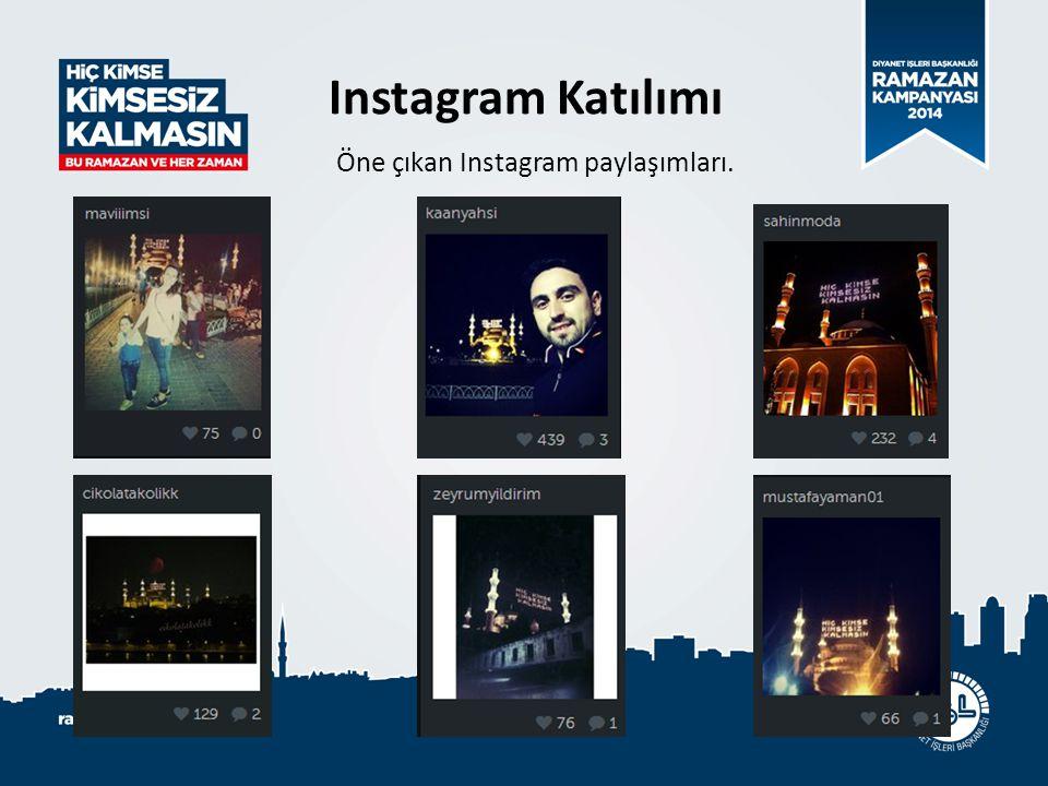 Öne çıkan Instagram paylaşımları.