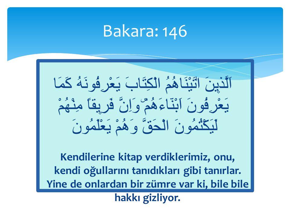 Bakara: 146