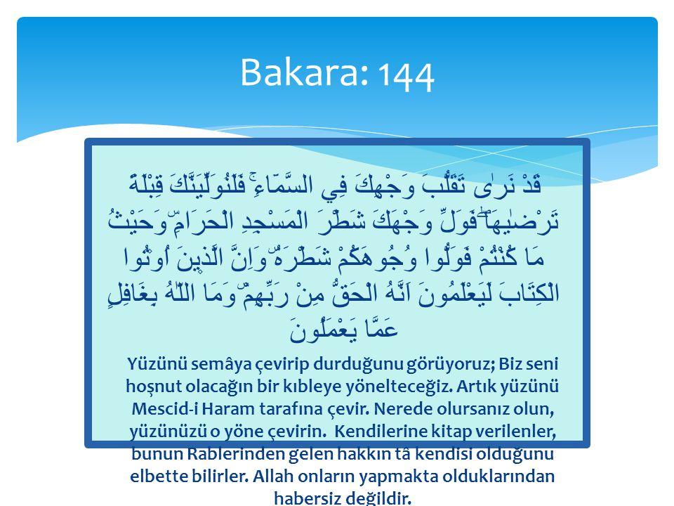 Bakara: 144