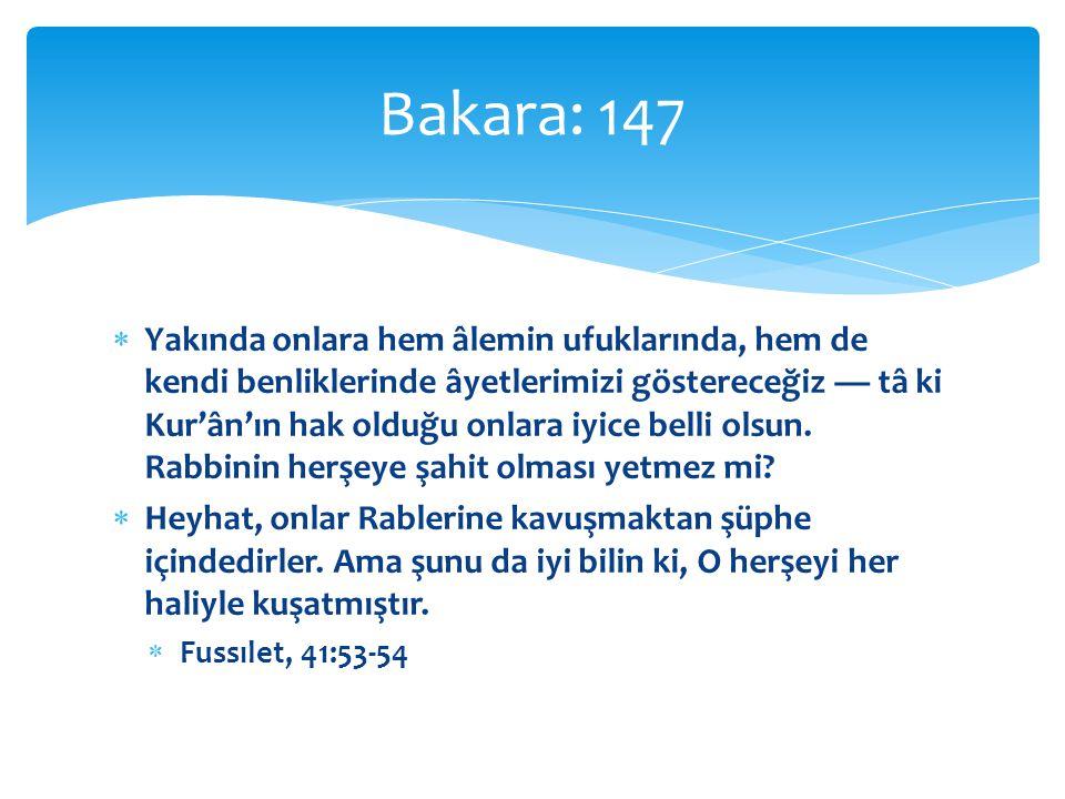 Bakara: 147